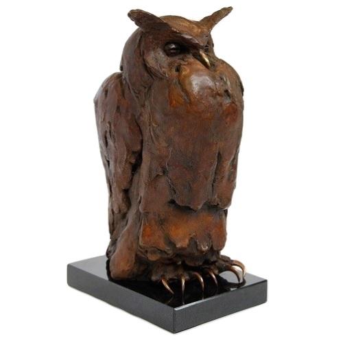 Bronzen Uil Le Marez